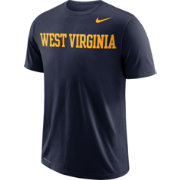Nike Men's West Virginia Mountaineers Blue Wordmark T-Shirt