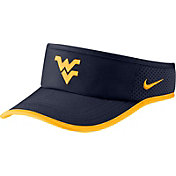 Nike Men's West Virginia Mountaineers Blue Aerobill Featherlight Visor