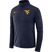 Nike Men's West Virginia Mountaineers Blue Core Half-Zip Shirt
