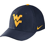 Nike Men's West Virginia Mountaineers Blue Aerobill Swoosh Flex Classic99 Hat