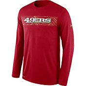 Product Image · Nike Men s San Francisco 49ers Sideline Seismic Legend  Performance Red Long Sleeve Shirt dc362c5e4