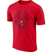 Nike Men's Tampa Bay Buccaneers Icon Performance Red T-Shirt