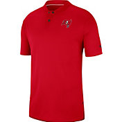 Nike Men's Tampa Bay Buccaneers Sideline Elite Performance Red Polo