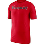 Nike Men's Tampa Bay Buccaneers Sideline Player Performance Red T-Shirt