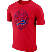 Nike Men's Buffalo Bills Icon Performance Red T-Shirt