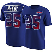 Nike Men's Buffalo Bills LeSean McCoy #25 Prism Player Royal T-Shirt