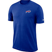 Nike Men's Buffalo Bills Sideline Coaches Performance Royal T-Shirt