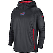 Nike Men's Buffalo Bills Sideline Fly Rush Anthracite Jacket