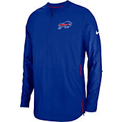 Nike Men's Buffalo Bills Sideline Lockdown Half-Zip Royal Jacket