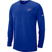 Nike Men's Buffalo Bills Sideline Modern Royal Long Sleeve Top