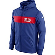 Nike Men's Buffalo Bills Sideline Therma-FIT Royal Full-Zip Hoodie