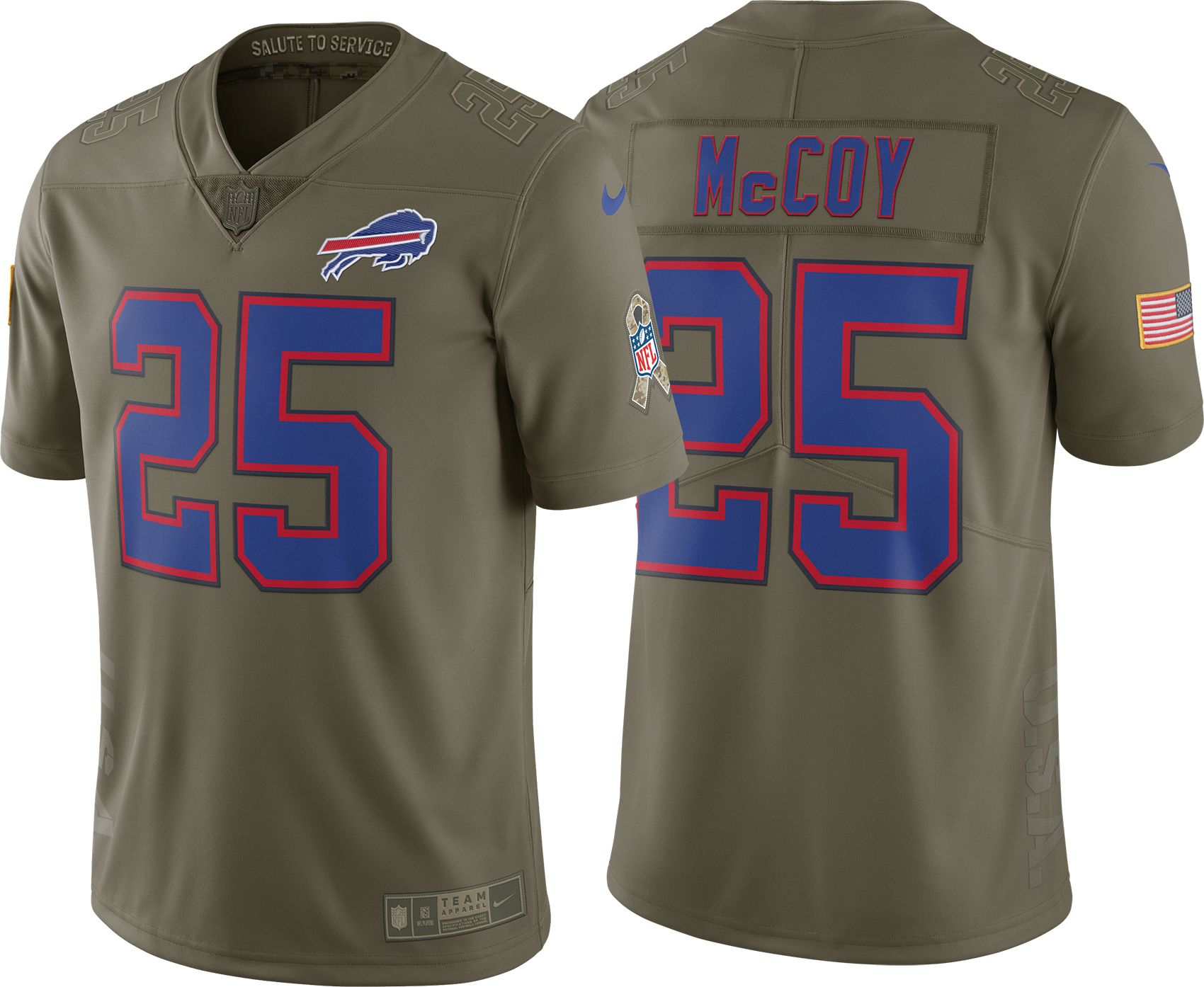 4391d432037 ... discount nike mens home limited salute to service buffalo bills lesean  mccoy 25 jersey a0347 1f408