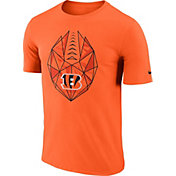 Nike Men's Cincinnati Bengals Icon Performance Orange T-Shirt