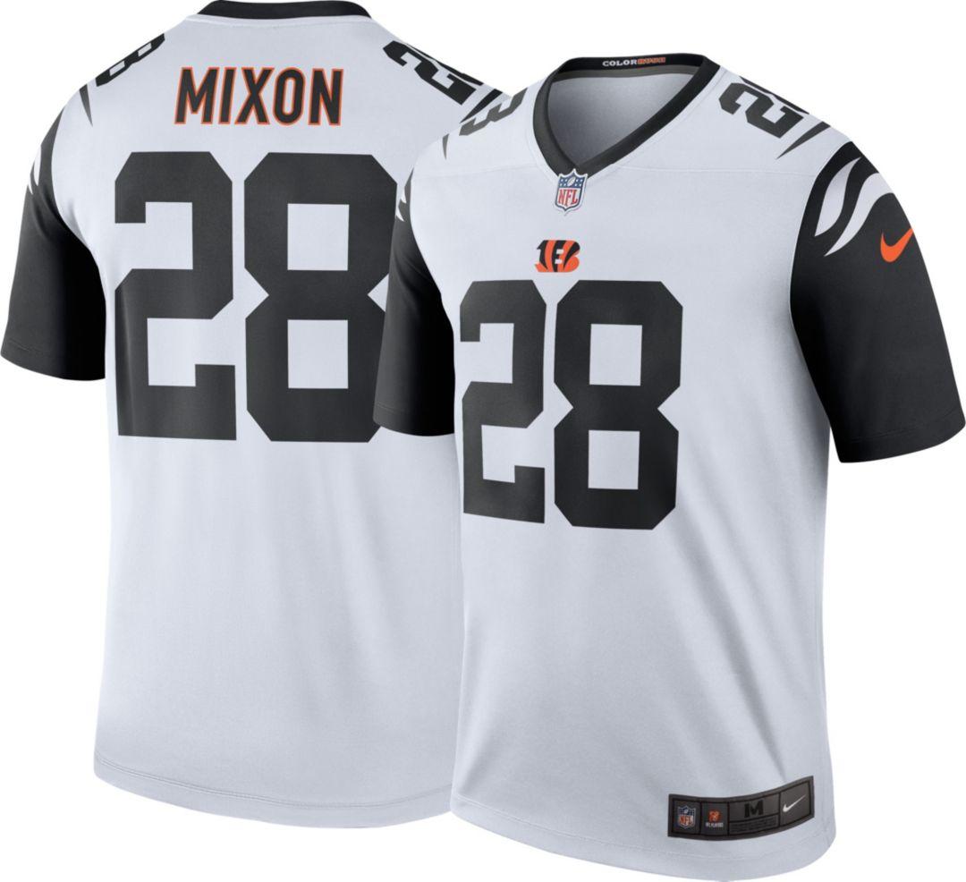 size 40 a6f0a 41d6f Nike Men's Color Rush Legend Jersey Cincinnati Bengals Joe Mixon #28