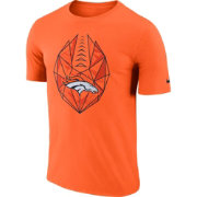 Nike Men's Denver Broncos Icon Performance Orange T-Shirt