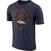 Nike Men's Denver Broncos Icon Performance Navy T-Shirt