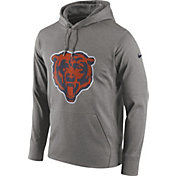 Nike Men's Chicago Bears Essential Logo Grey Hoodie