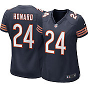 Nike Women's Home Game Jersey Chicago Bears Jordan Howard #24