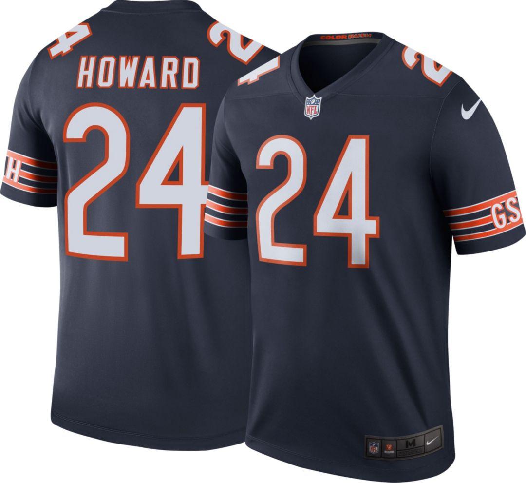 372894c8737 Nike Men's Color Rush Legend Jersey Chicago Bears Jordan Howard #24 ...