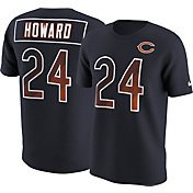 Nike Men's Chicago Bears Jordan Howard #24 Prism Player Navy T-Shirt