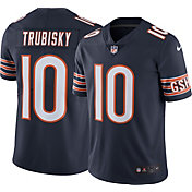 Nike Men's Home Limited Jersey Chicago Bears Mitchell Trubisky #10