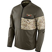 Nike Men's Chicago Bears Salute to Service 2017 Shield Hybrid Jacket
