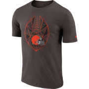 Nike Men's Cleveland Browns Icon Performance Brown T-Shirt