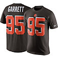 Nike Men's Cleveland Browns Myles Garrett #95 Pride Brown T-Shirt