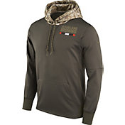 Nike Men's Cleveland Browns Salute to Service 2017 Therma-FIT Performance Hoodie