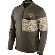 Nike Men's Cleveland Browns Salute to Service 2017 Shield Hybrid Jacket