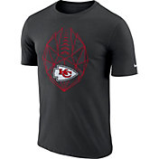 Nike Men's Kansas City Chiefs Icon Performance Black T-Shirt