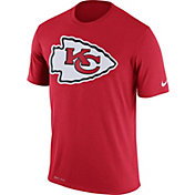 Nike Men's Kansas City Chiefs Legend Logo Performance Red T-Shirt