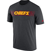 Nike Men's Kansas City Chiefs Sideline Seismic Legend Performance Chrome T-Shirt