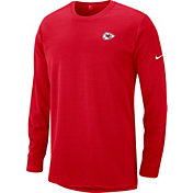 Nike Men's Kansas City Chiefs Sideline Modern Red Long Sleeve Top