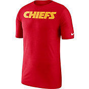 Nike Men's Kansas City Chiefs Sideline Player Performance Red T-Shirt