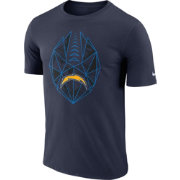 Nike Men's Los Angeles Chargers Icon Performance Navy T-Shirt