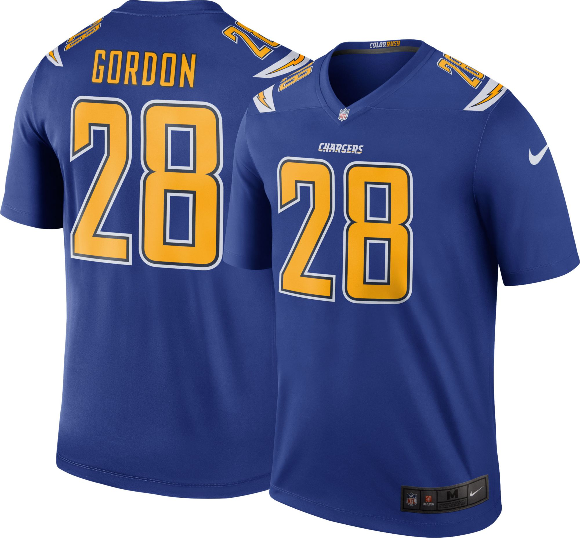 200f3e4c Nike Men's Color Rush Legend Jersey Los Angeles Chargers Melvin ...