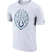 Nike Men's Indianapolis Colts Icon Performance White T-Shirt