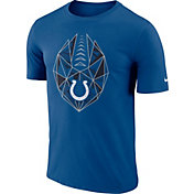 Nike Men's Indianapolis Colts Icon Performance Blue T-Shirt
