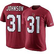 Nike Men's Arizona Cardinals David Johnson #31 Pride Red T-Shirt