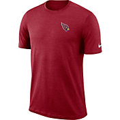 Nike Men's Arizona Cardinals Sideline Coaches Performance Red T-Shirt