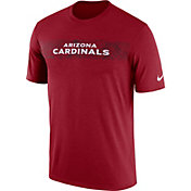 Nike Men's Arizona Cardinals Sideline Seismic Legend Performance Red T-Shirt
