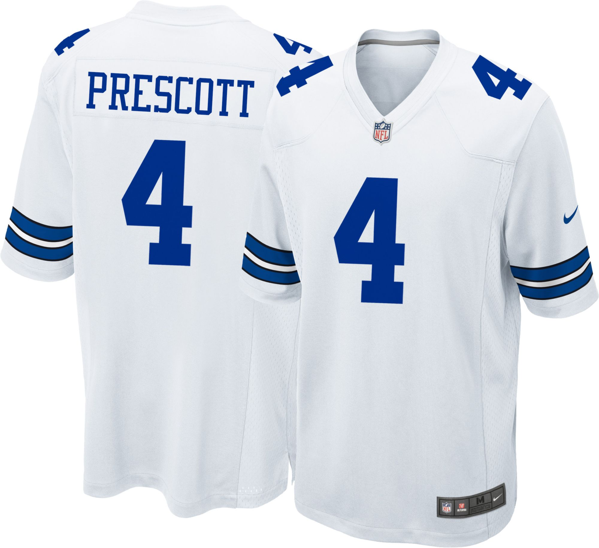 dallas cowboys official game jersey