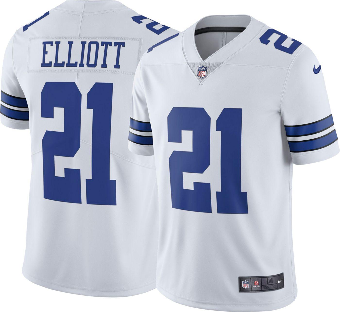 Nike Men's Limited Jersey Dallas Cowboys Ezekiel Elliott #21