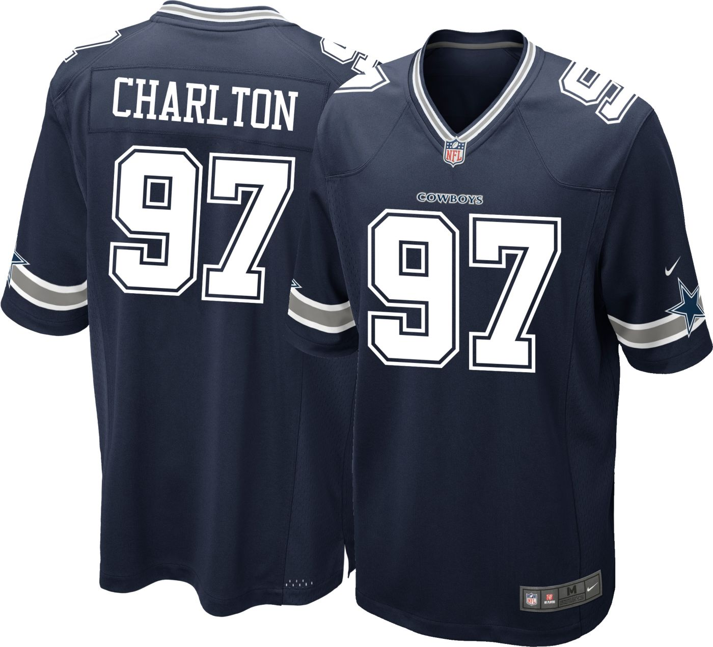 Nike Men's Game Jersey Dallas Cowboys Taco Charlton #97