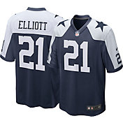 Nike Men's Throwback Game Jersey Dallas Cowboys Ezekiel Elliott #21