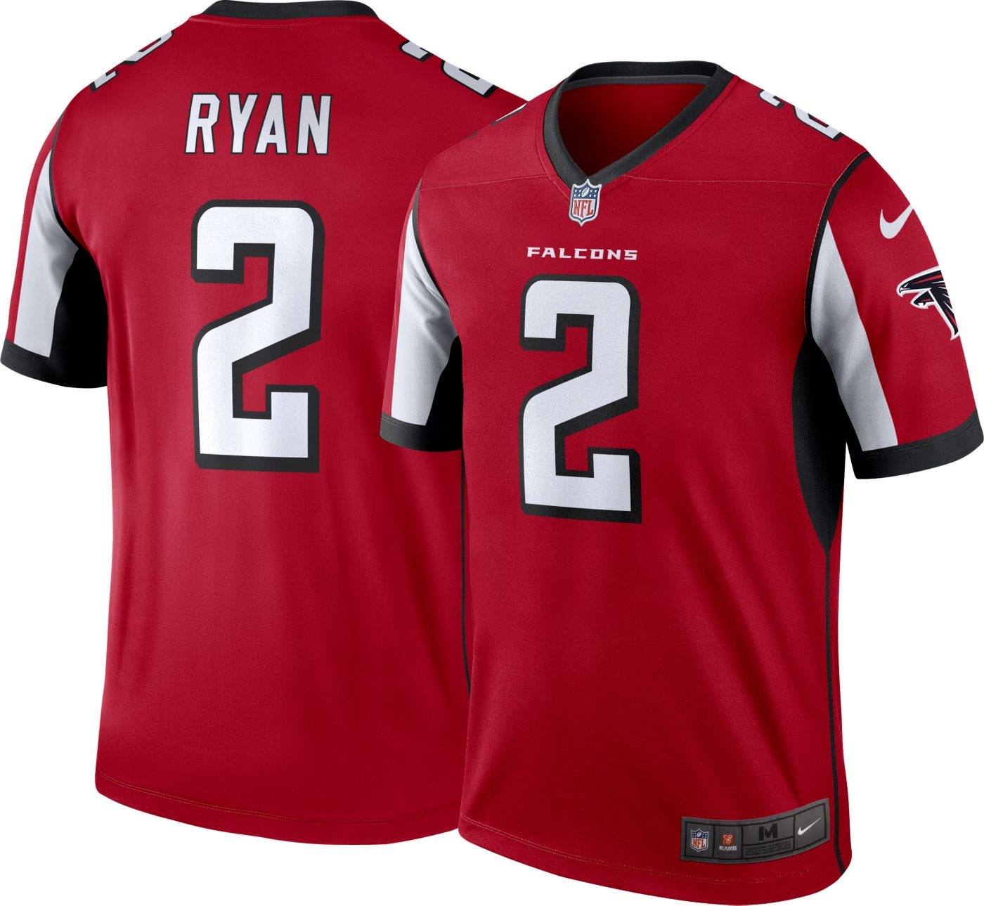 Nike Men's Alternate Legend Jersey Atlanta Falcons Matt Ryan #2