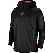 Nike Men's Atlanta Falcons Sideline Fly Rush Black Jacket