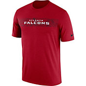 Nike Men's Atlanta Falcons Sideline Seismic Legend Performance Red T-Shirt