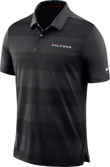 1abe2c912 Nike Men s Atlanta Falcons Sideline Early Season Black Polo